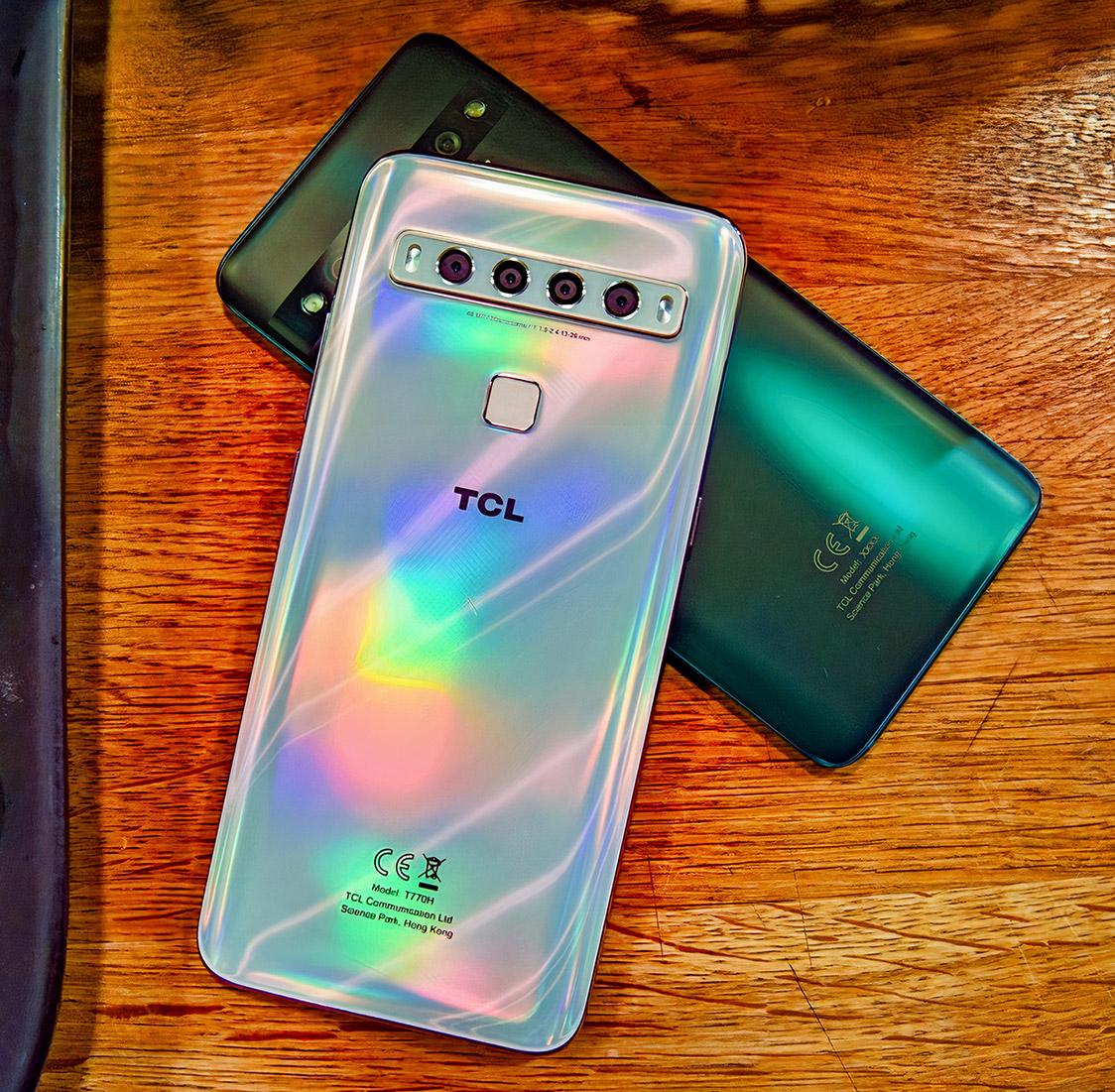 TCL 10L Smartphone Arctic White