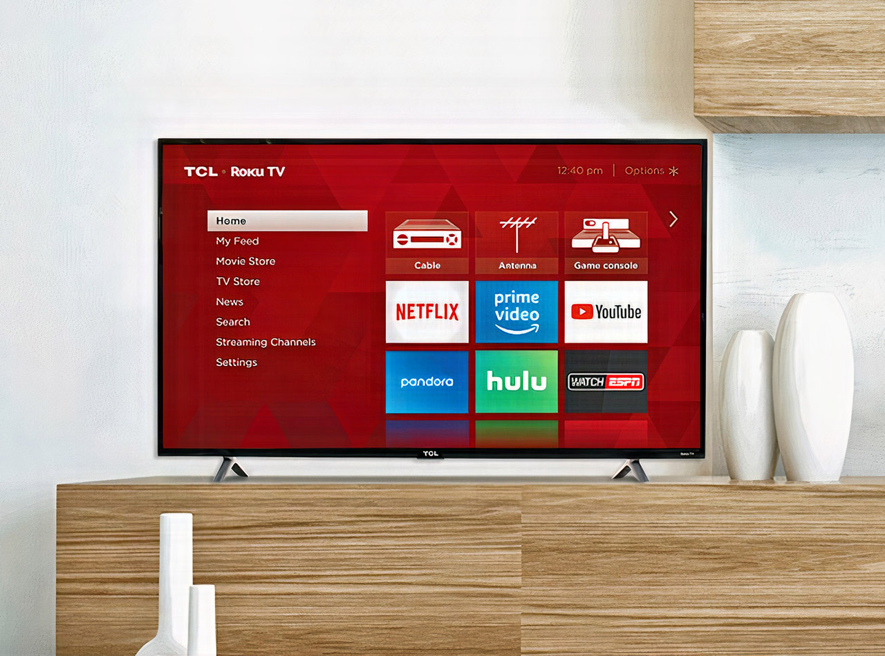 TCL 32-inch 3-Series Roku Smart LED TV
