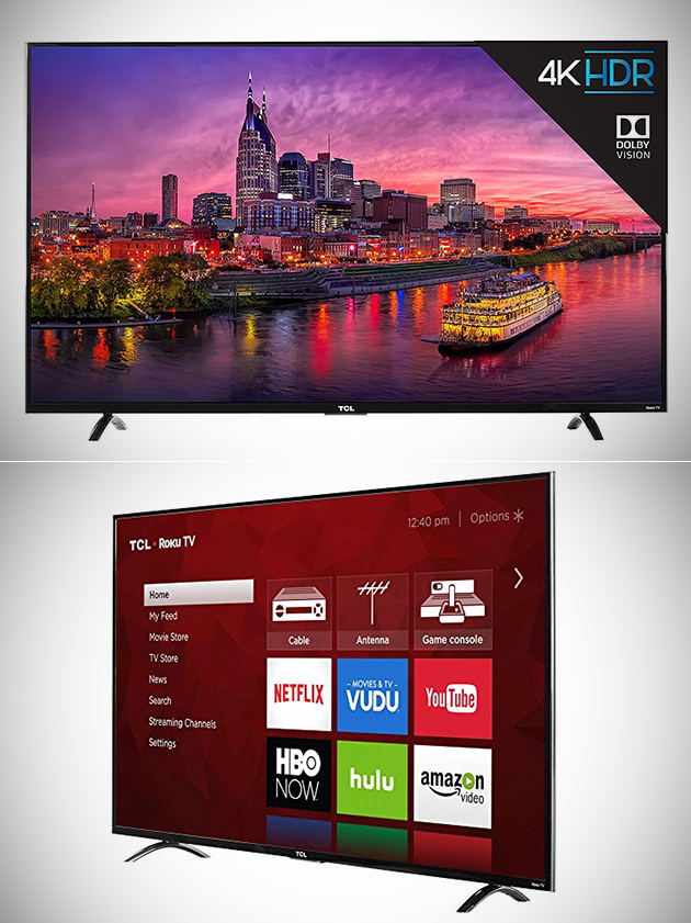 TCL 4K Ultra HD LED TV 55
