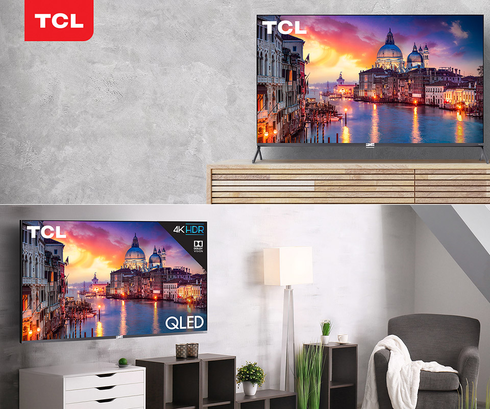 TCL 55-inch 6-Series Roku Smart TV