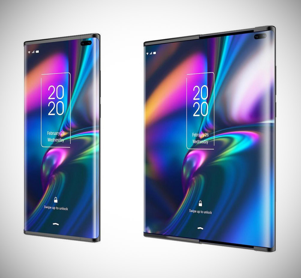 TCL Slide-Out Display Smartphone