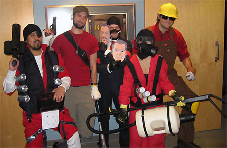 Bioware Team Dresses Up As Team Fortress 2 Characters For