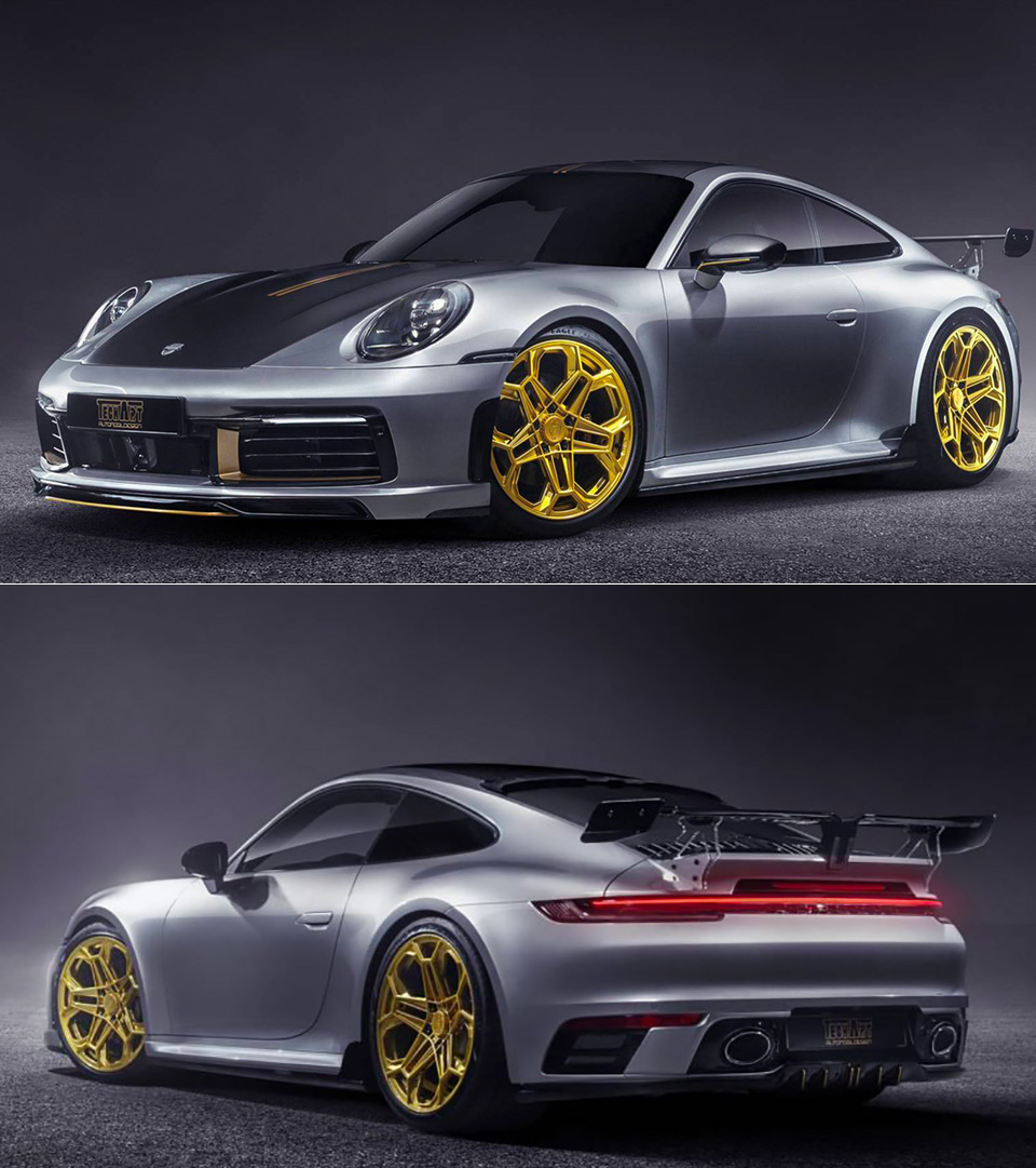 TechArt 2020 Porsche 911 Carrera 4S