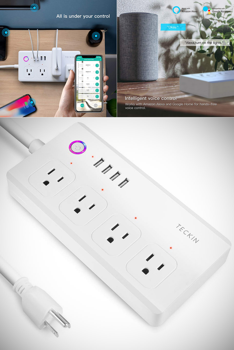 Teckin WiFi Smart Power Strip