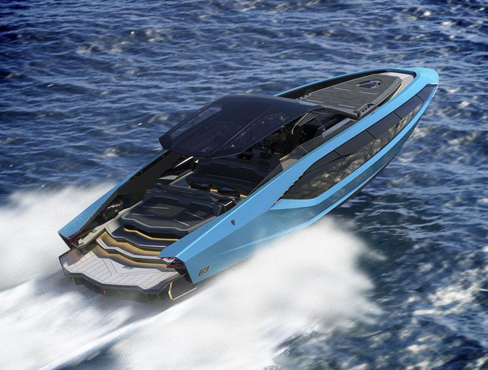 Tecnomar Lamborghini 63 Luxury Yacht