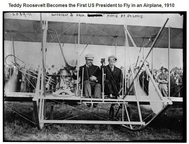 Teddy Roosevelt Plane