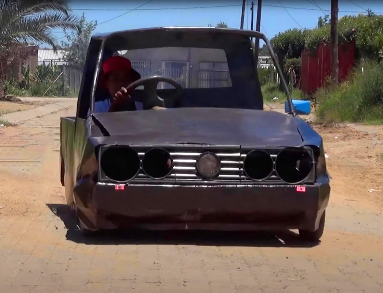 Teenager Scrap Metal Car South Africa