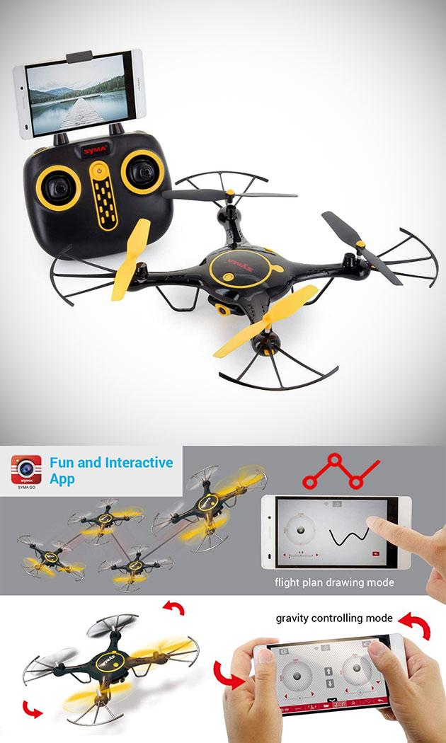 Tenergy Syma X5UW Drone