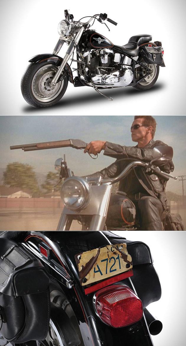 Terminator 2 Harley Davidson Fat Boy
