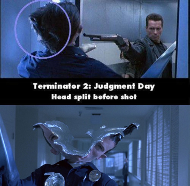 Terminator 2 Movie Mistake
