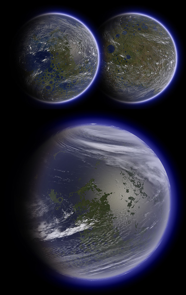 If the Moon and Venus Were Terraformed Into Habitable ...