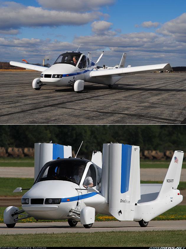 Terrafugia Flying Car Transition