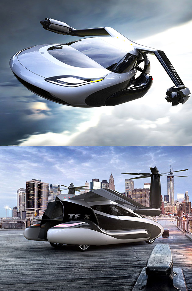 Terrafugia Flying Car Automaker Officially Acquired by Volvo's Parent Company