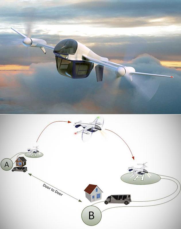 Terrafugia TF-2 Flying Car