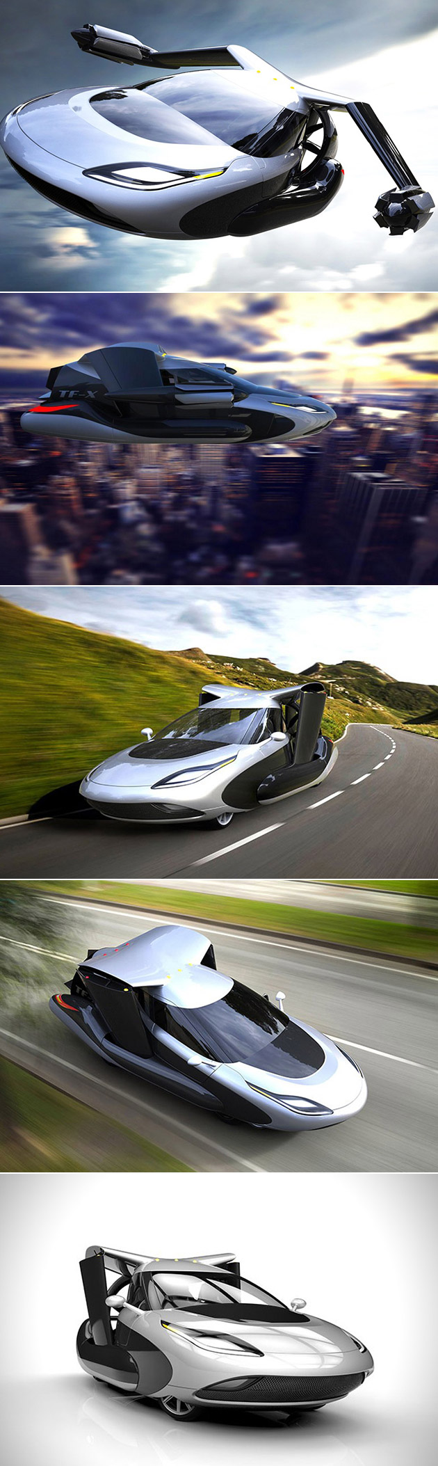 Terrafugia TF-X Flying Car
