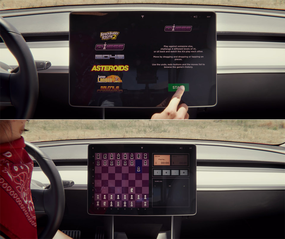 Tesla Arcade Chess