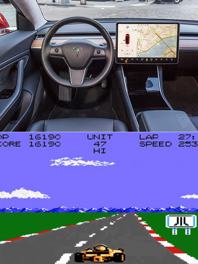 Tesla Will Add Classic Atari Games to Its In-Car Display with V9.0 Software Update