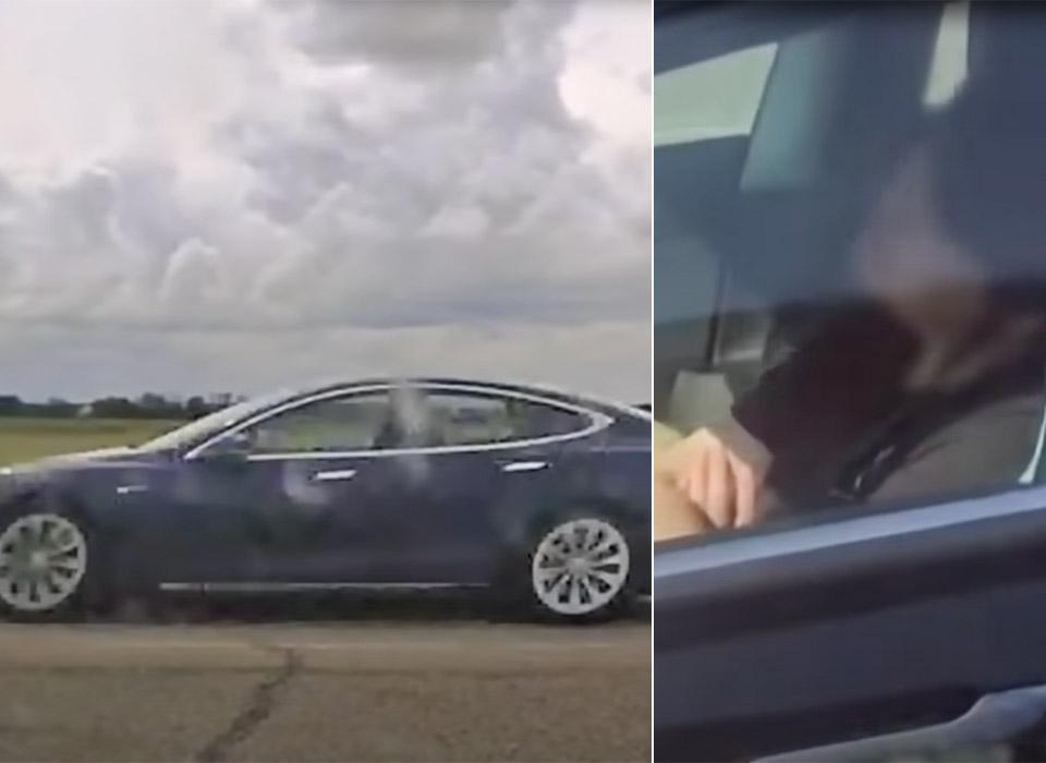 Tesla Autopilot Sleep