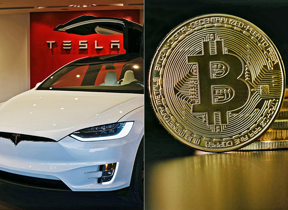 Tesla Cryptocurrency Bitcoin Elon Musk