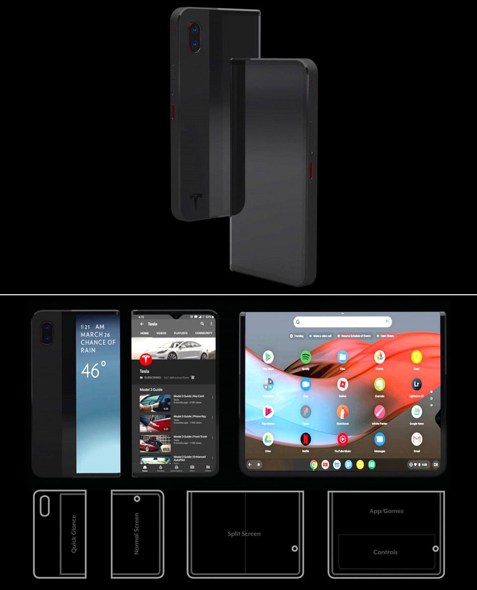 Tesla C1 Smartphone