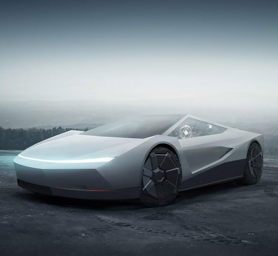 Tesla Cybertruck Coupe