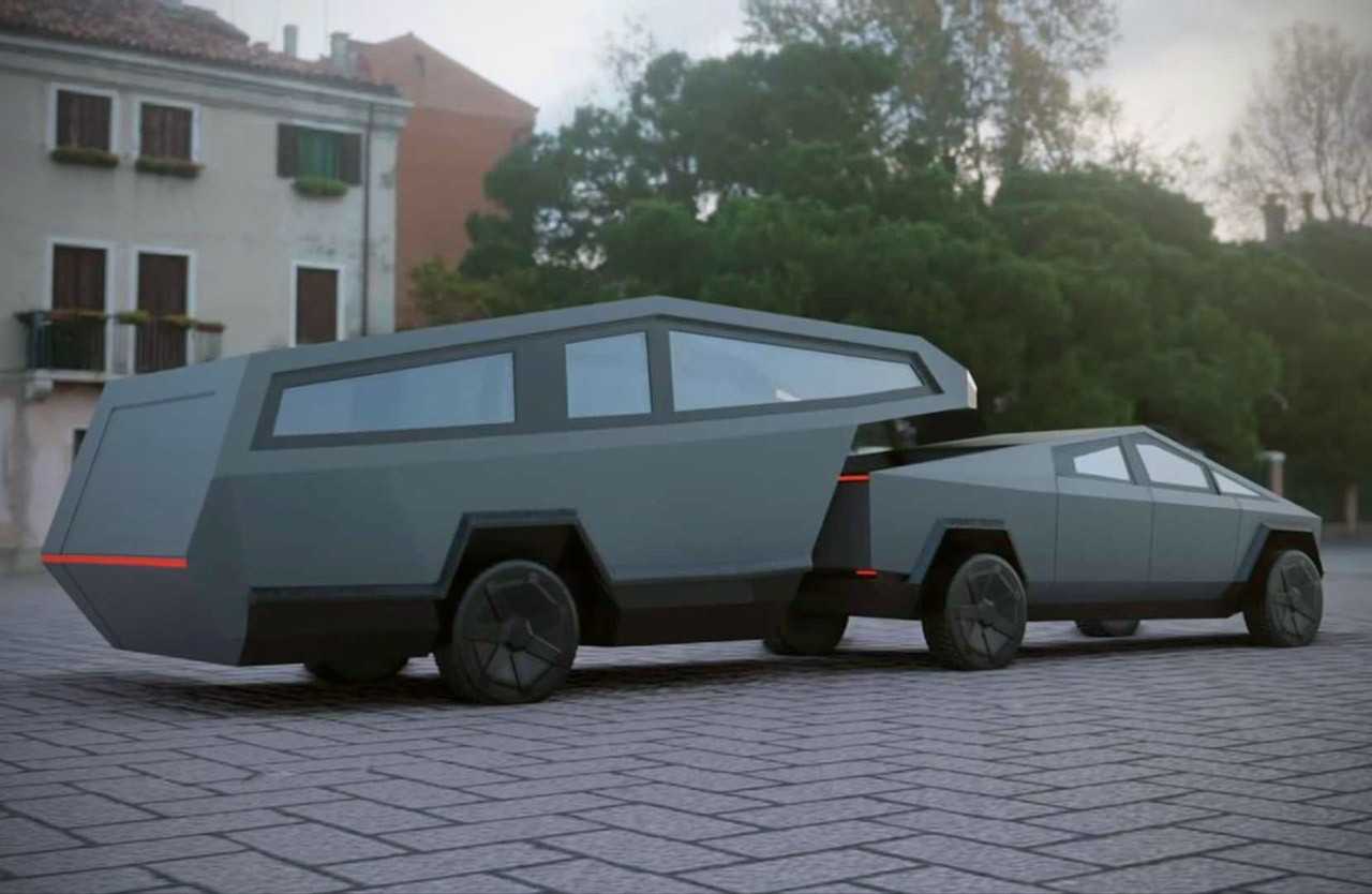 Tesla Cybertruck RV
