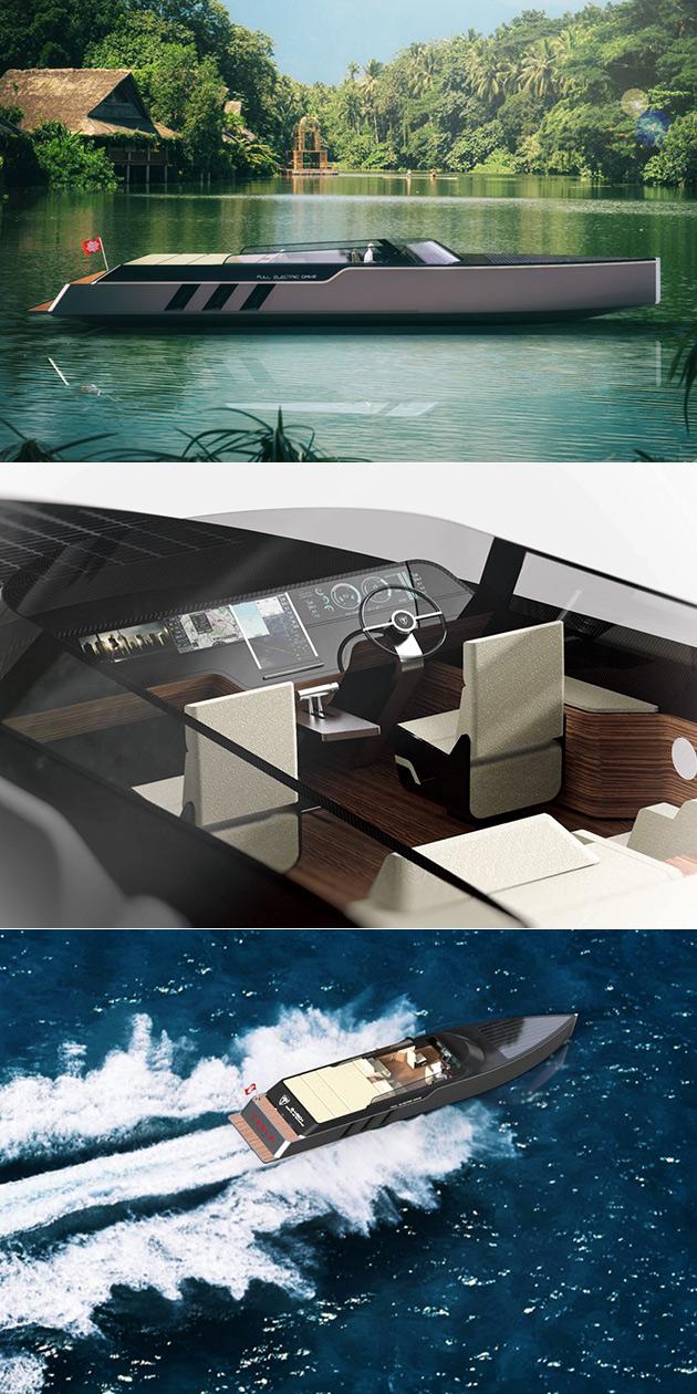 Tesla Electric Boat