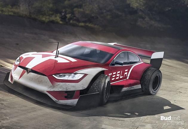 Tesla F1 Car