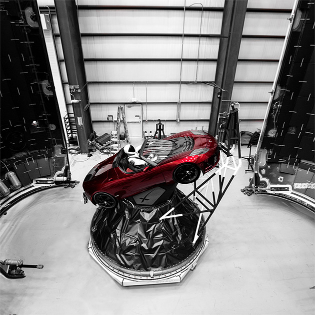 Tesla Falcon Heavy