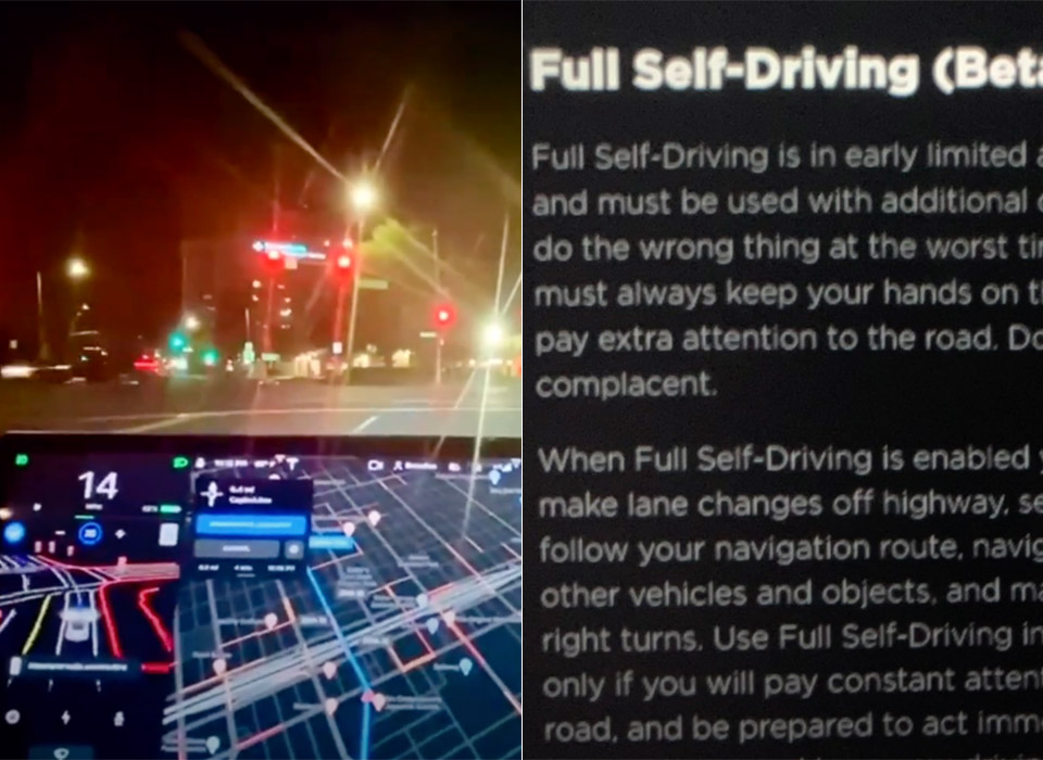 Tesla Full Self Driving Beta