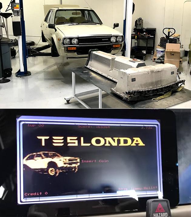 Tesla Honda Accord