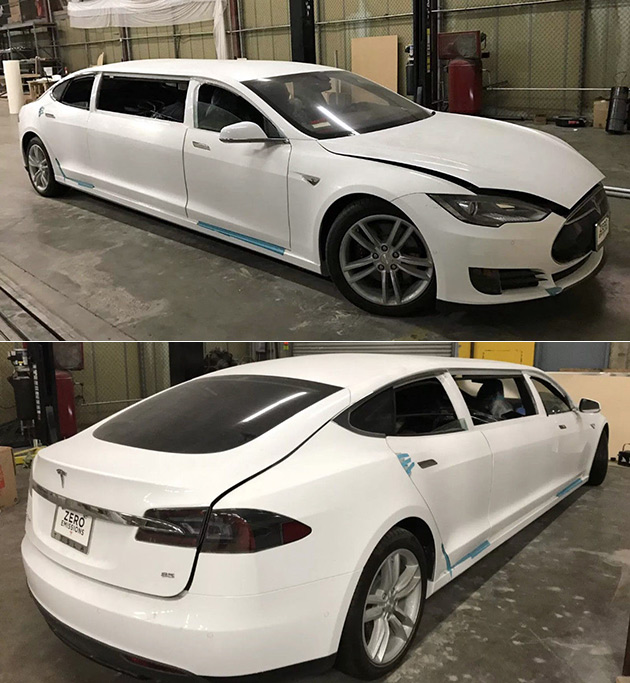 Tesla Limousine
