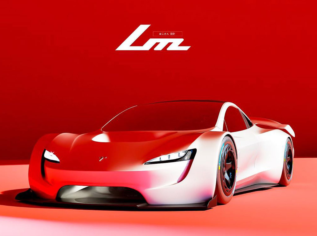 Tesla LM Track-Only Roadster