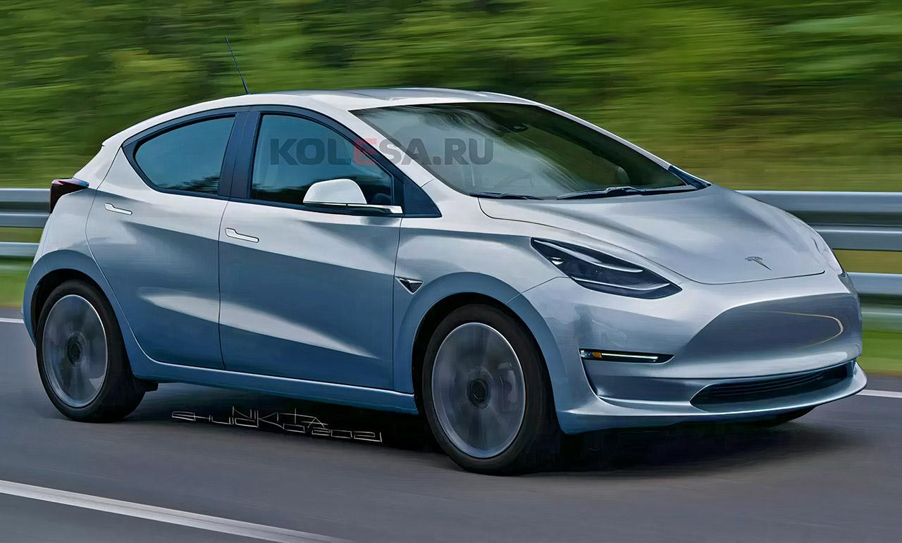Tesla Model 2 Hatchback Concept