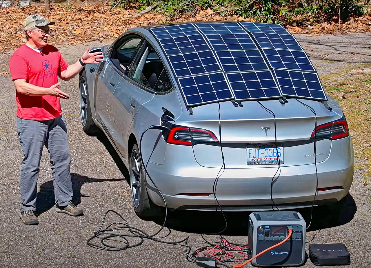 Tesla Model 3 Solar Roof