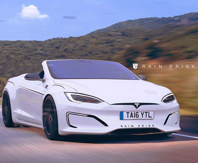 Tesla Model S Roadster Might Be The Sleekest Looking