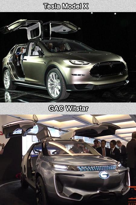 Tesla Model X GAC WitStar