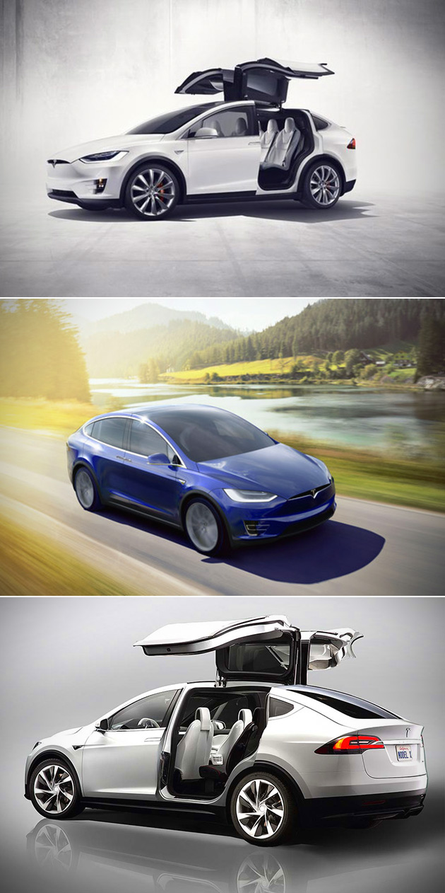 Tesla Model X Official