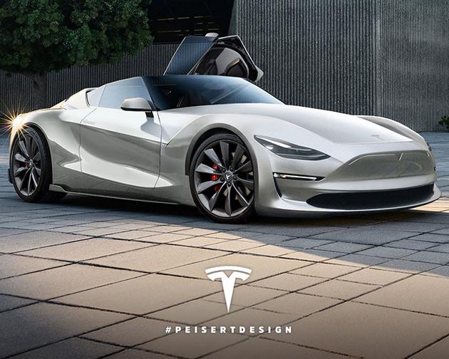 Tesla P100D Roadster