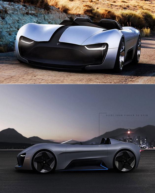 Tesla Roadster Y Pourrait Être le Successeur d'Origine Roadster, A