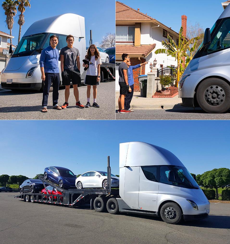 Tesla Semi Customer Delivery
