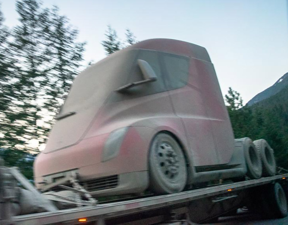 Tesla Semi Prototype Alaska