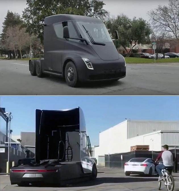 Tesla Semi Prototype