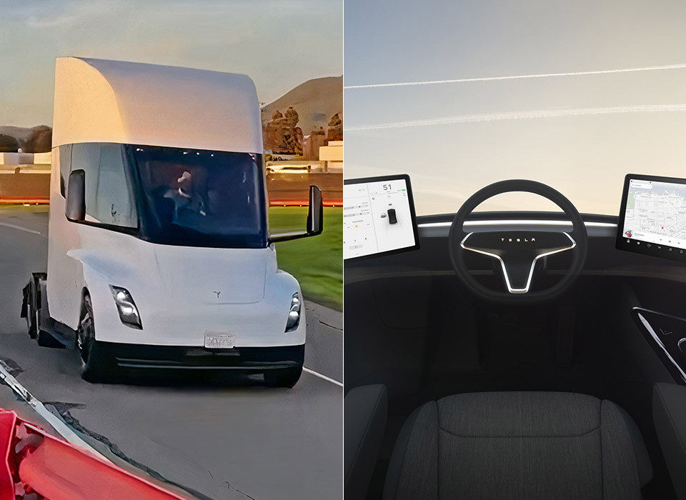 Tesla Semi Test Track