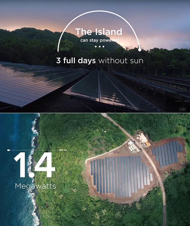Tesla SolarCity Island