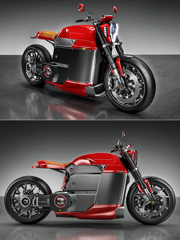 Tesla Model M Motorcycle