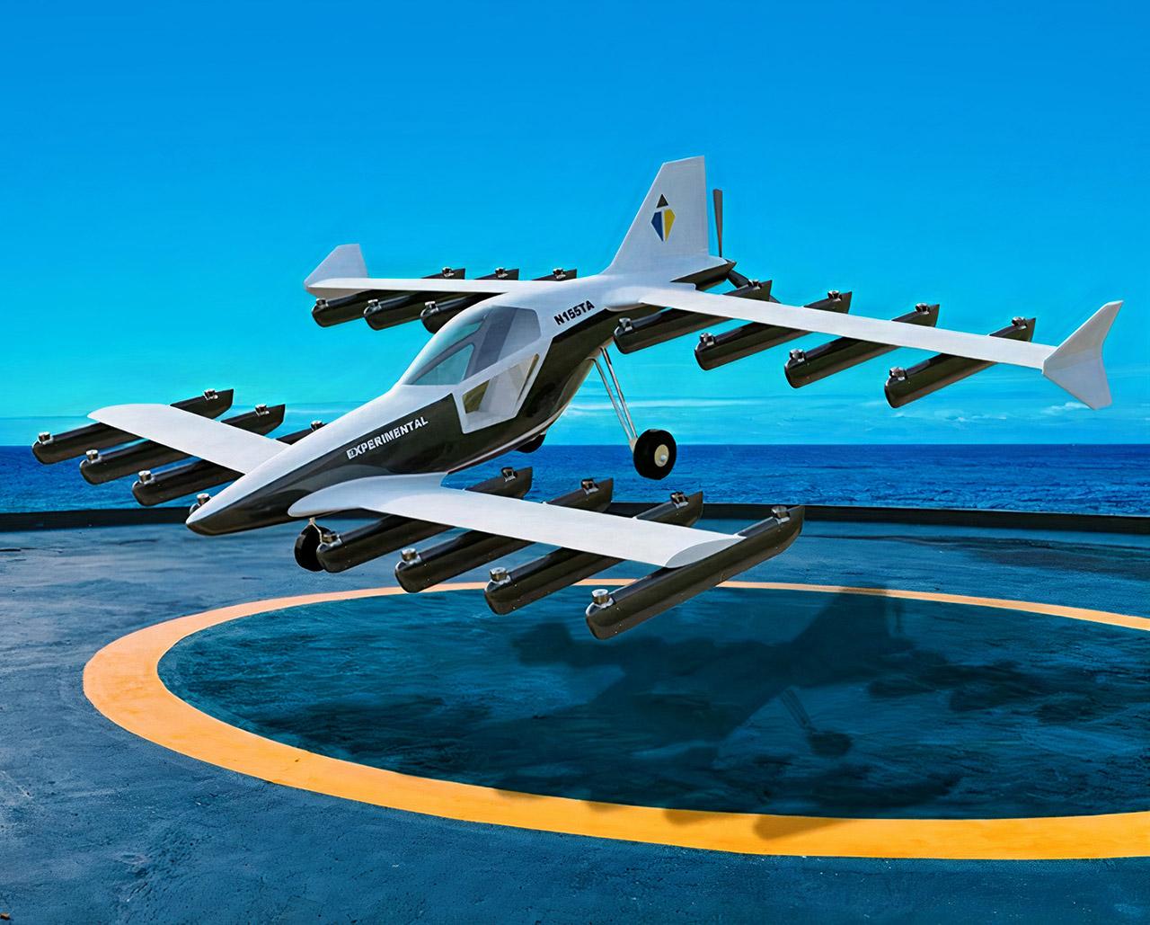 Tetra Aviation Mk-5 Electric eVTOL