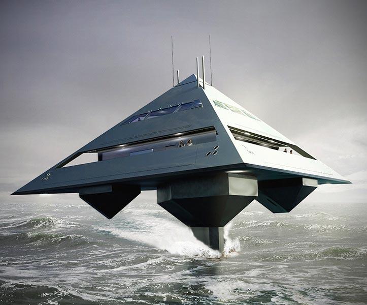 Tetrahedron Superyacht