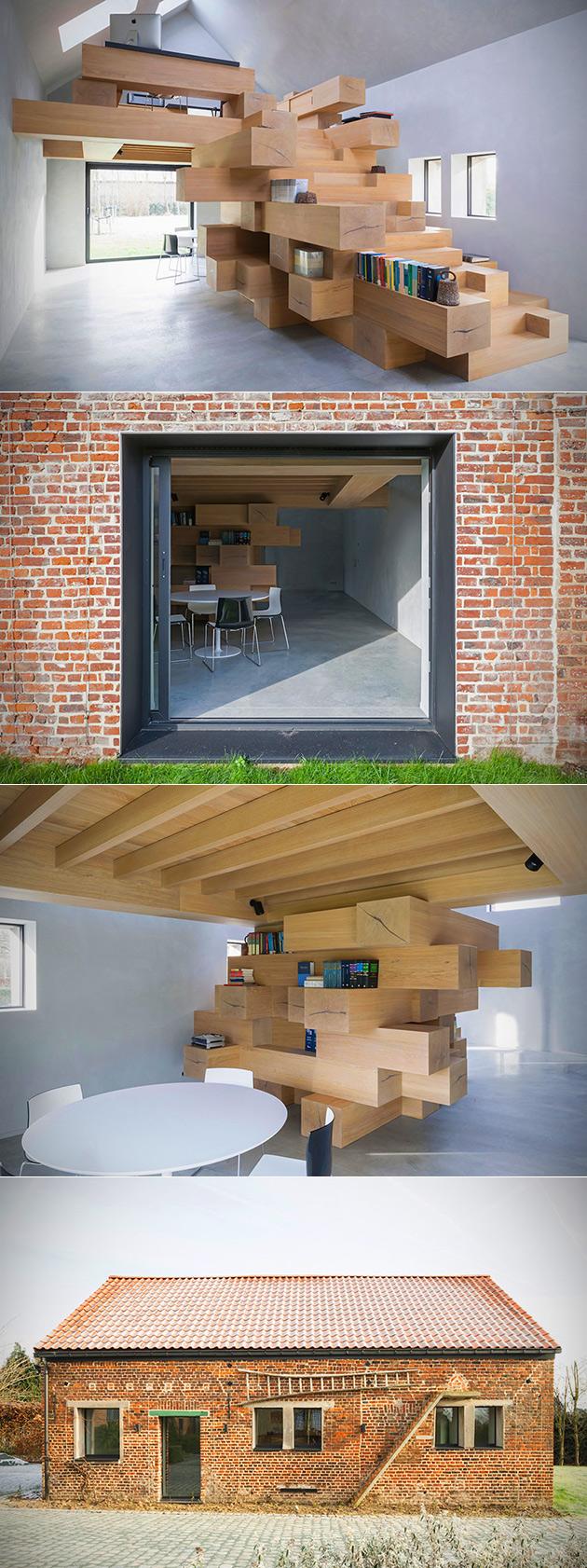 Stable Tetris House