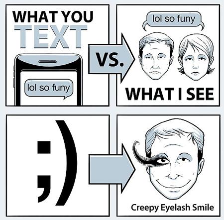 Creepy Smile Meaning The Creepy Eyelash Smile